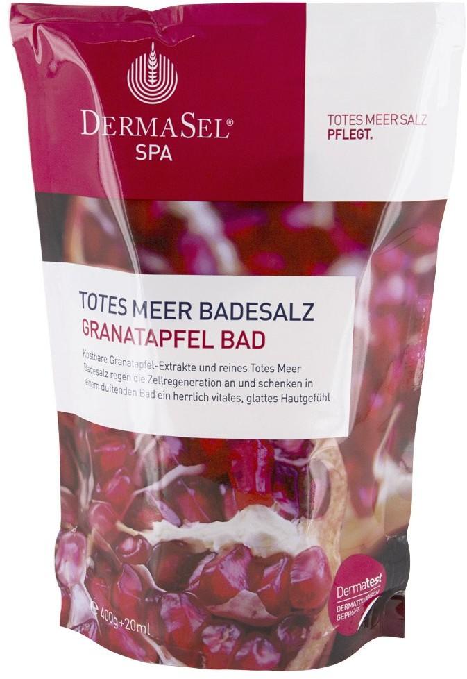 Fette Pharma Ag Dermasel sól do kąpieli z Morza Martwego z ekstraktem z granatów