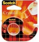 Opinie o Scotch Taśma biurowa samoprzylepna przezroczysta na podajniku Crystal