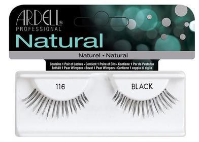 Ardell 1 para sztucznych rzęs Natural 116 Black