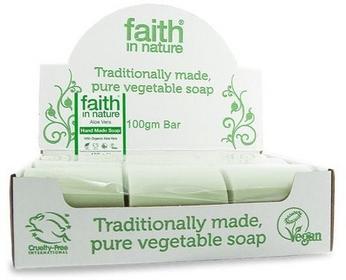 Faith In Nature Organiczne mydła Aloe Vera 18sztuk x 100g -