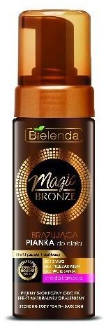 Bielenda Magic Bronze Pianka brązująca do ciała - śniada karnacja 150ml