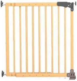 Reer Bramka ochronna na drzwi i schody Basic Active-Lock drewnokolor natu