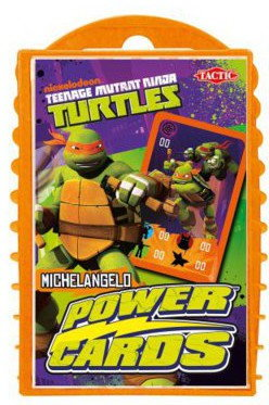 Tactic Power cards Turtles 3 GTA-40859