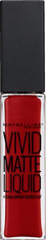 Maybelline MAYBELLINE_Vivid Matte Liquid Lip Color matowy błyszczyk do ust 35 Rebel Red 8ml