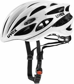 UVEX Kask rowerowy Race 1 + okulary GRATIS! - White