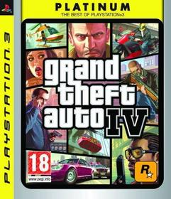 Grand Theft Auto 4 Platinum PS3