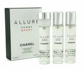 Chanel Allure Homme Sport Woda toaletowa 3x20ml WKŁADY