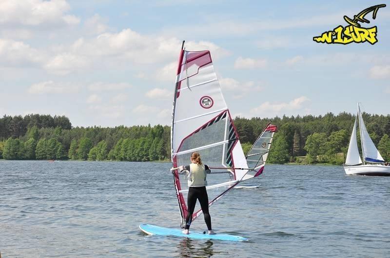 Windsurfing - lekcje indywidualne z instruktorem - Łódź- pakiet 3+2