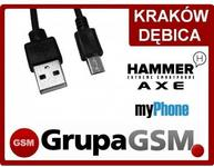 Opinie o KABEL USB do myPhone Hammer / Hammer AXE / AXE LTE