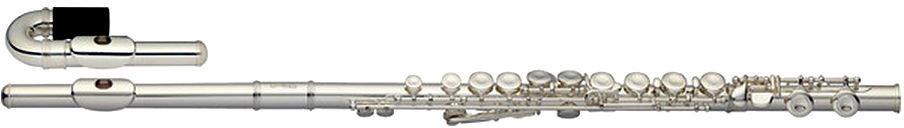 Stagg WS-FL221S - flet poprzeczny C z główką prostą i zagiętą