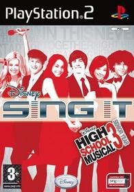 Sing It High School Musical 3 Senior Year PS2