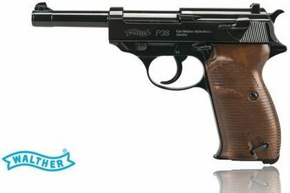 Walther Wiatrówka - Pistolet P-38 kal.4,46mm BB 5.8089