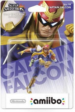 Nintendo Figurka Amiibo Smash Captain Falcon NIFA0018