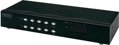Digitus przełącznik KVM Video Matrix 4x4 DC-48101 4 VGA audio 1920 x 1440