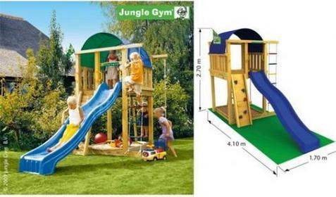 Jungle Gym Plac zabaw Villa