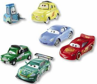 Mattel Y0506 CARS 2 DWUPAK
