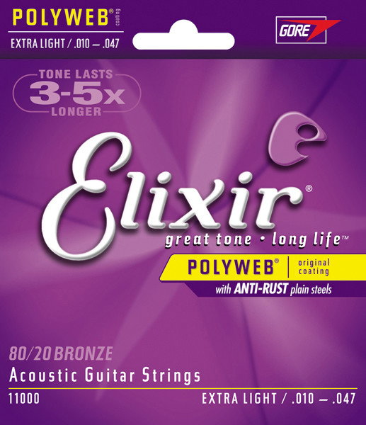 Elixir 11000 - do gitary akustycznejnej PolyWeb 10-47
