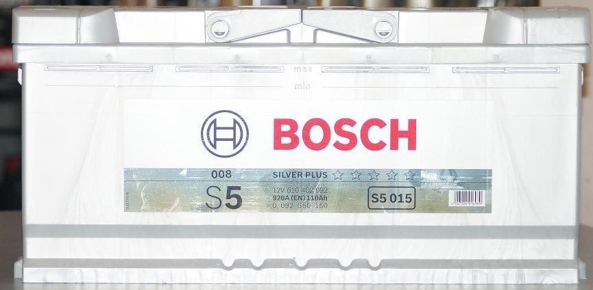 BOSCH s50 110Ah/920A