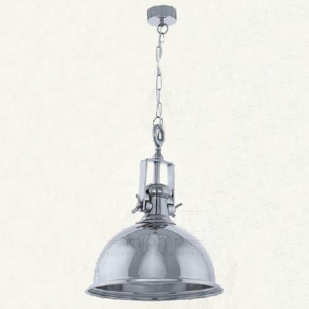 Eglo LAMPA wisząca GRANTHAM 49179 metalowa OPRAWA zwis IP20 kopuła chrom