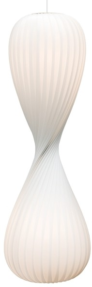 Tom Rossau TR10 - lampa wisząca - biała 43x133
