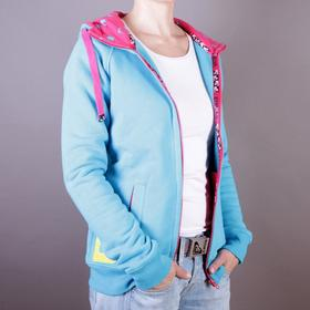 Evokaii Bluza Wake Zipper Hood - kolor niebieski