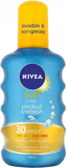 Nivea Protect & Refresh spray ochronny SPF30+ 200ml