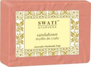 Swati Mydło w kostce Drzewo Sandałowe Indyjskie 100g