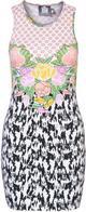 House of Wilde CELIA Sukienka z dżersej wielokolorowe HW121C00L-917