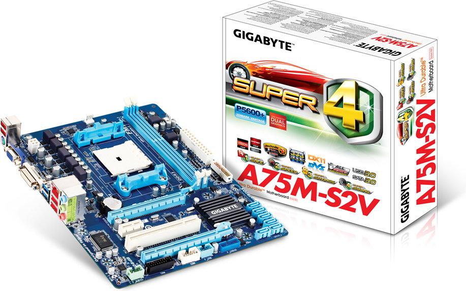Gigabyte GA-A75M-S2V