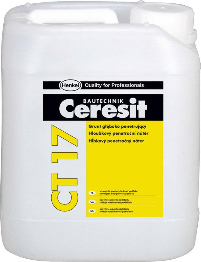 Ceresit CT 17 Grunt głęboko penetrujący 5L