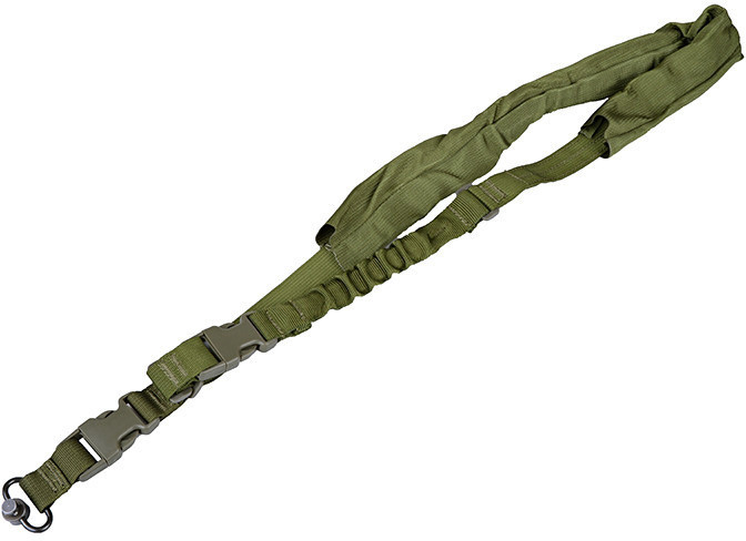 Opinie o ULTIMATE Tactical Jednopunktowy Pas nośny QD Comfort - oliwkowy (SLI-33-OLV) G