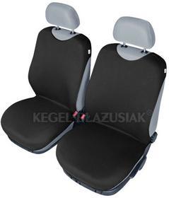 Kegel-Błażusiak pokrowce Pokrowce koszulki SHIRT COTTON na przednie fotele czarne