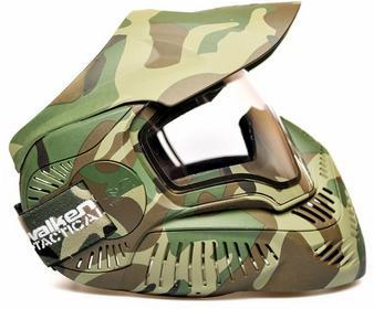 Maska ochronna Valken MI-7 woodland camo (MIL18320) A