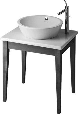 Duravit 0368000000 - - STRACK 1 Zestaw umywalka 0447530000 + stół drewniany, bla