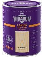 ?nie?ka Vidaron - Lakier akrylowy do drewna Bezbarwny jedwabisty po?ysk 0.7l