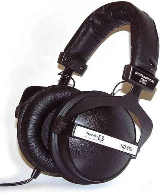 Superlux HD660 Czarny
