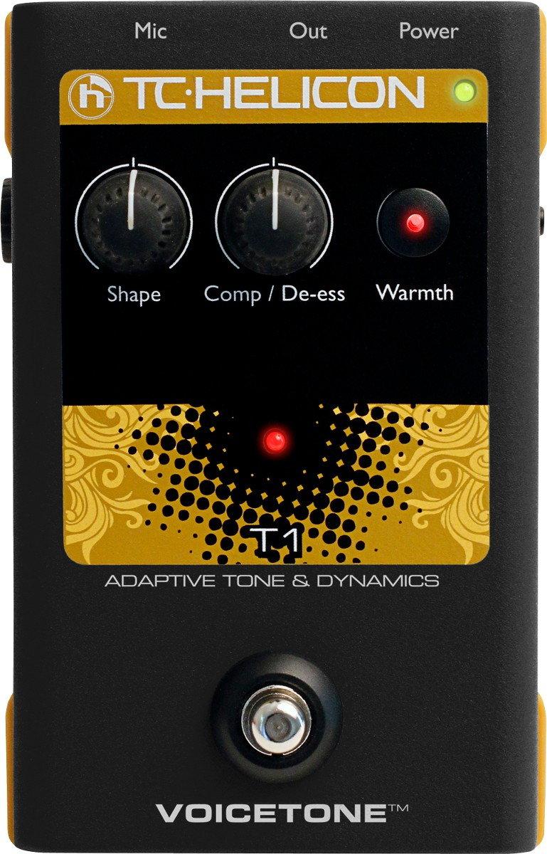 TC Helicon VoiceTone T1 - procesor wokalowy