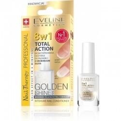 Eveline Nail Therapy Professional - odżywka do paznokci Golden Shine 8w1 12ml