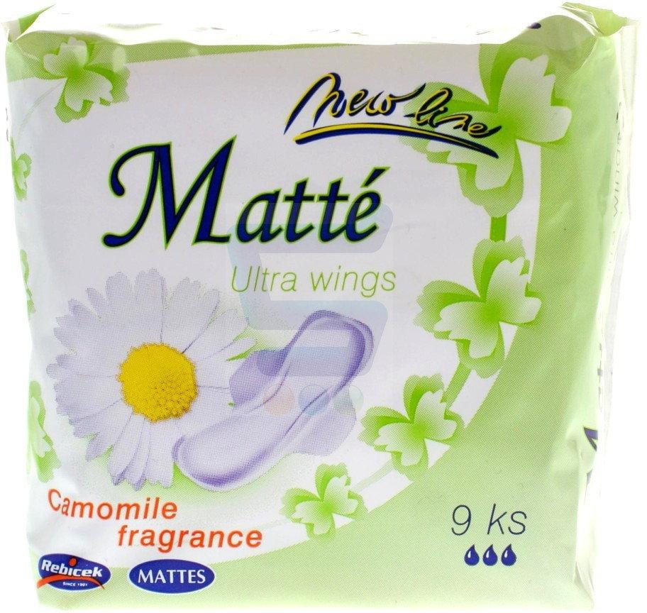 Opinie o Mattes Ultra Wings Podpaski Ultra Camomile 9 szt.