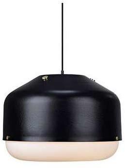 Markslojd LAMPA wisząca TOL 106404 metalowa OPRAWA okrągła zwis IP20 Czarny
