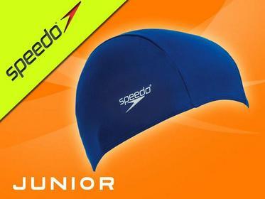 Speedo Czepek do pływania dla dzieci Polyester Cap 8710110000_BLUE