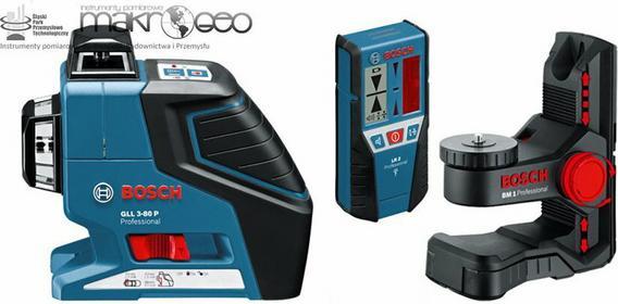 Bosch GLL 3-80 P + BM1 + LR2
