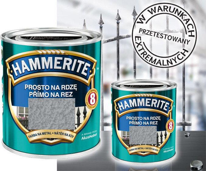 Hammerite Farba Farba antykorozyjna 2.5L Srebrnyoszary młotkowy