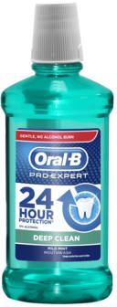 Oral-B ORAL-B PRO-EXPERT DEEP CLEAN PŁYN DO PŁUKANIA UST 500 ML zakupy dla domu i biura 090531