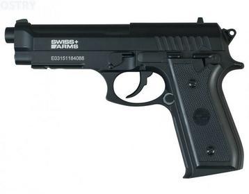 CyberGun wiatrówka Swiss Arms PT92 4,5 mm mm (288028)