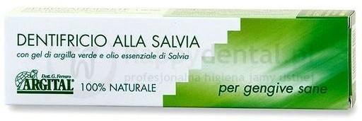 Argital Alla Salvia 75ml - w 100% naturalna pasta ściągająca na bazie olejku sza