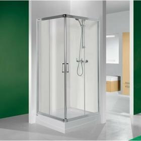 Sanplast TX KN/TX4b-80 80x80 profil srebrny błyszczący szkło W0 600-271-0020-38-400
