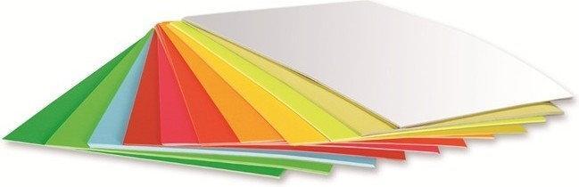 Papier kolorowy samoprzylepny Kreska - 20 A4