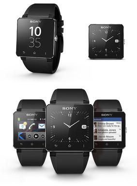 Sony SmartWatch 2 Black Silikon