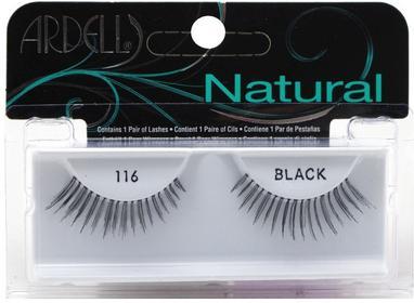 Ardell Natural Lashes 116 Black Profesjonalne rzęsy na pasku.